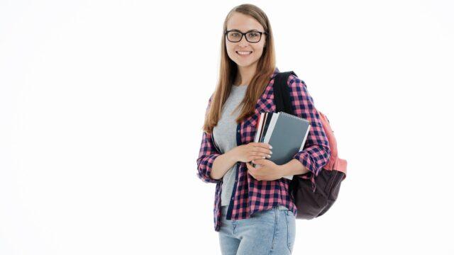 女性の学生