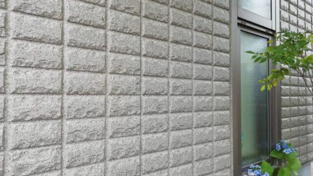 へーベルハウスのグレーの壁