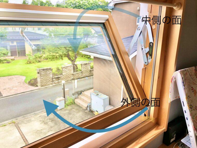 スウェーデンハウスの回転する窓